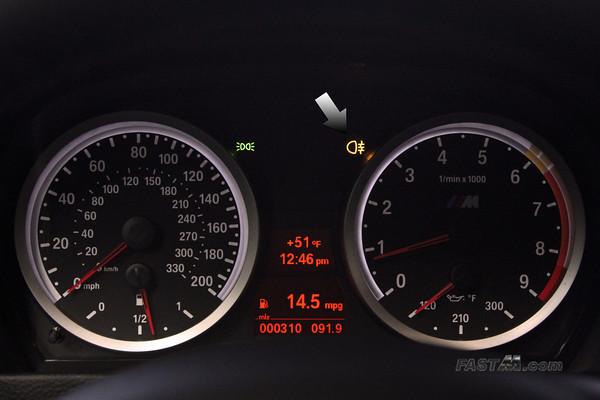 DIY Enable Rear Fog Lights Free Mod On E M - Bmw x3 dashboard signs